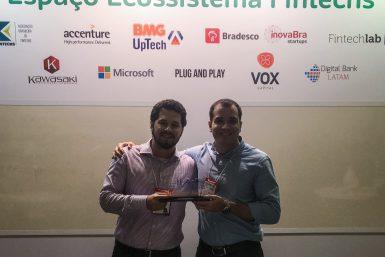 Nexoos CMS Fintech Award 1o lugar - Fundadores 1
