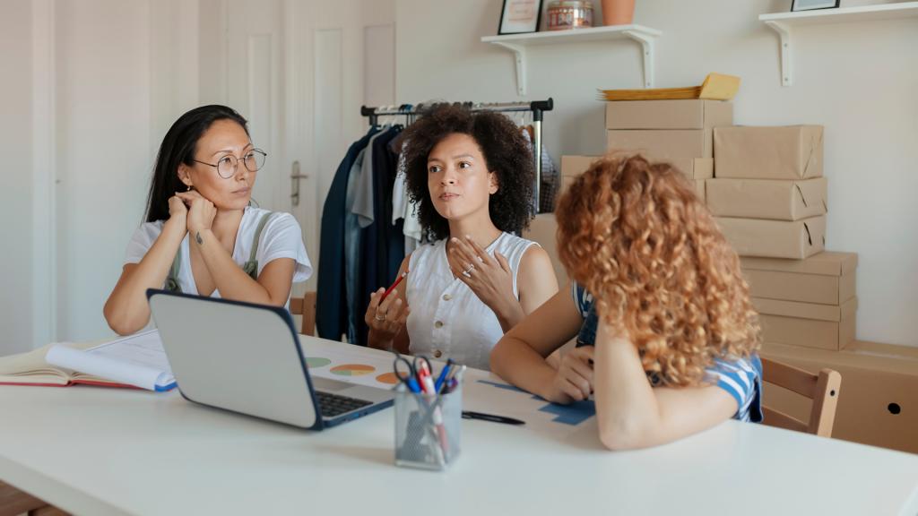 Empreendedorismo Feminino Mulheres Trabalhando